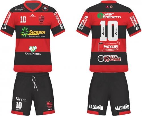 fda82482b Esportes - 06 02 2015 - Tupi FC divulga imagens do uniforme oficial de 2015  com os patrocinadores