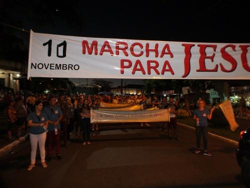 ac637aded Variedades - 10/11/2018 - VI Marcha Para Jesus foi realizada neste sábado  em Crissiumal